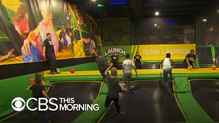 """Trampoline park injuries are """"like getting hit with a hammer,"""" researcher says"""