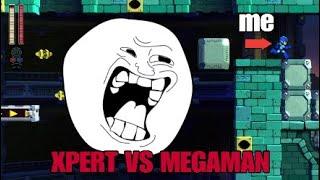 XPERT VS MEGAMAN!!!!