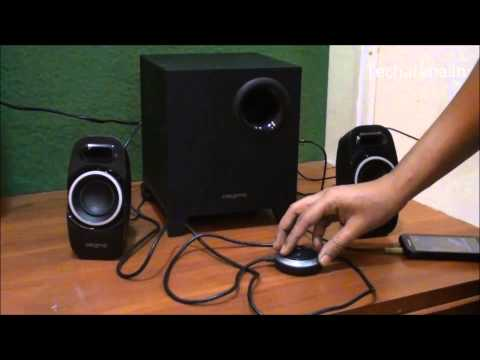 Creative T3250 21 Speakers Video Review YouTube