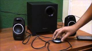 Creative T3250 2.1 Speakers Video Review