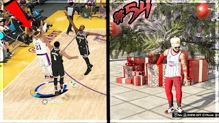 MAXED ANKLE BREAKER BADGE UNLOCKED! Deep Contested Double Teamed 3!! NBA 2k20 MyCAREER Ep. 54