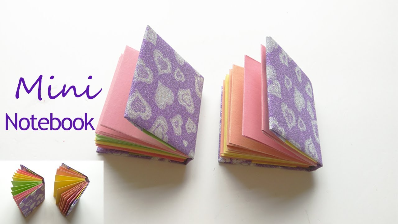 diy mini notebooks how to make a mini origami book diy