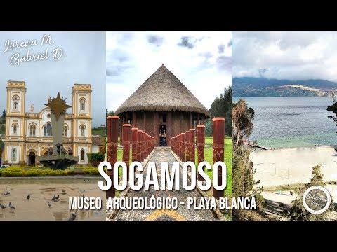 SOGAMOSO Ll MUSEO ARQUEOLÓGICO II PLAYA BLANCA
