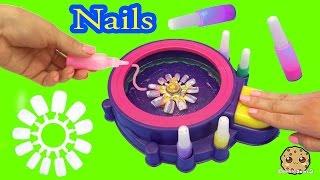 Fail - Make Your Own Custom Nails with Glitter Nail Swirl Art Kit Maker  - Cookieswirlc Video thumbnail