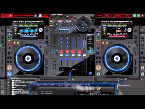Descarga coleccion de PACK de 450 Skins  para virtual DJ pro 8 full HD_2015