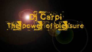 Dj Carpi - The power of pleasure(dreamsplash remix)
