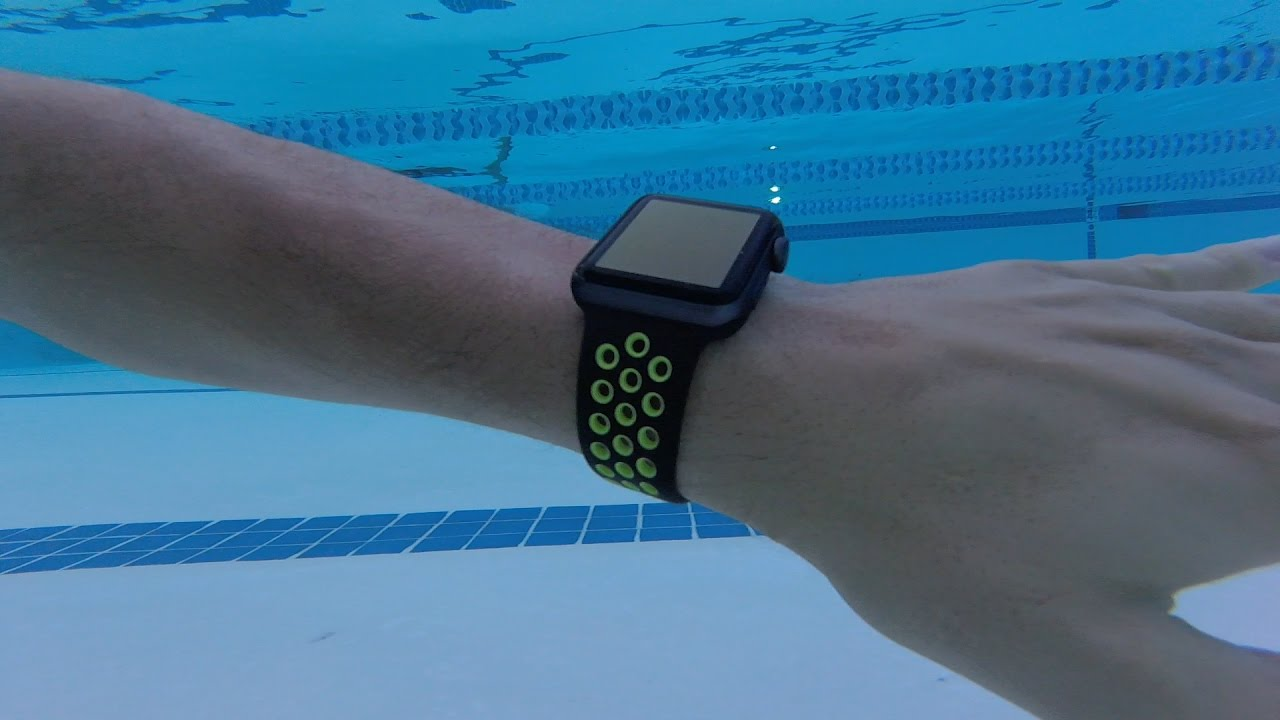 Apple Watch Nike Review Swim Bike Run Youtube