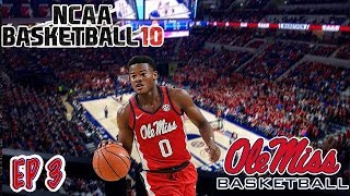 WE CRACKED THE TOP 25!!!! | NCAA Basketball 10 OLE MISS Dynasty Ep  3