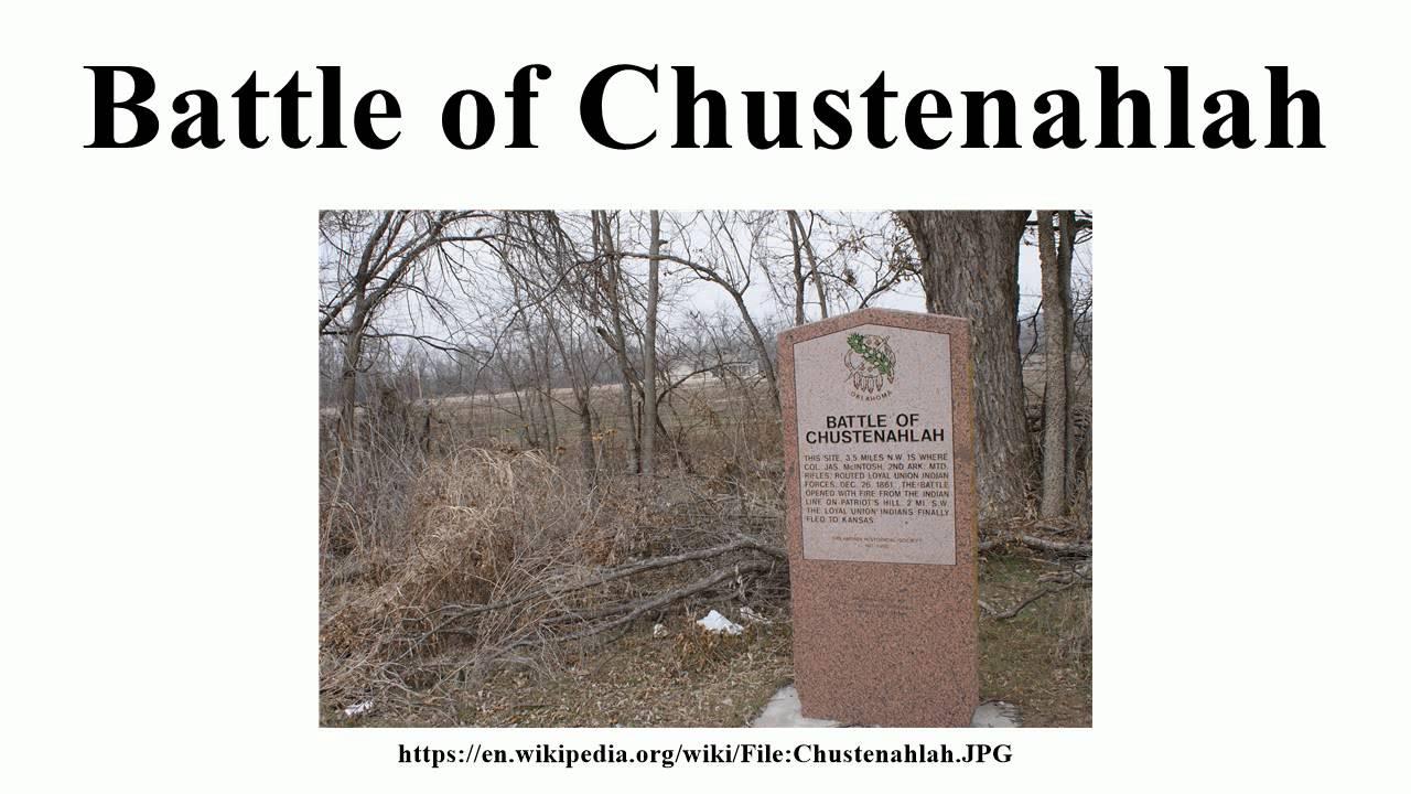 Battle of Chustenahlah - Alchetron, The Free Social Encyclopedia