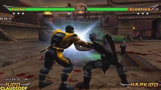 Mortal Kombat Armageddon SMOKE - (VERY HARD) - (PS2)【TAS】