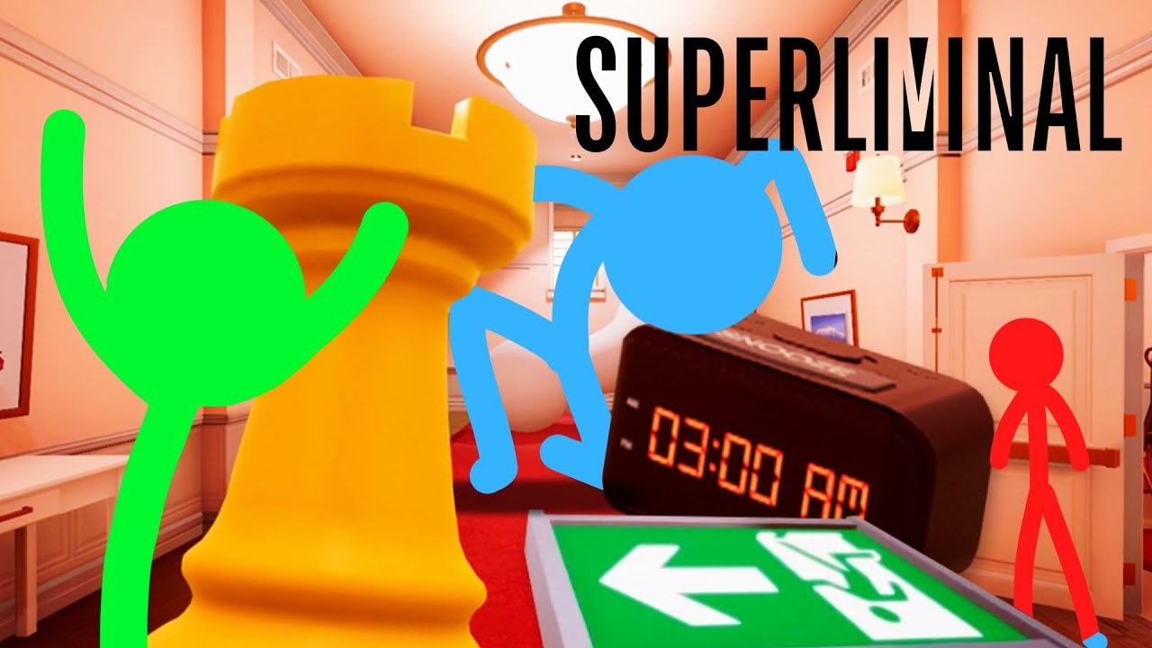 THIS GAME IS MELTING OUR BRAIN! | Superliminal