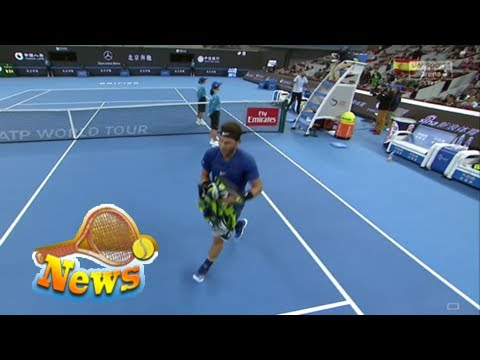 Did rafael nadal force umpire to give nick kyrgios point penalty at china open?