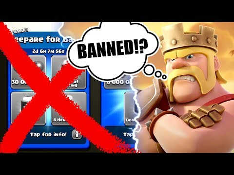 HAS SUPERCELL BANNED ME FROM BUYING PACKS? - Clash Of Clans