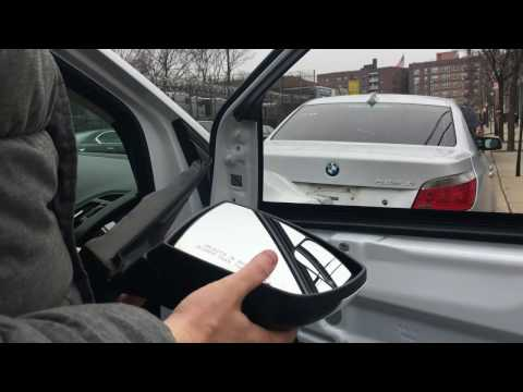 Ford Escape How to remove replace door mirror on 2013-2017 2014 2015 2016
