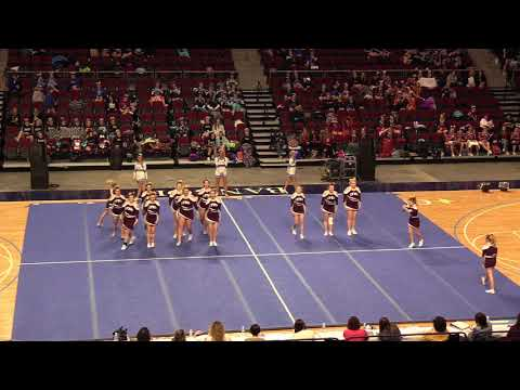 2018 State Cheerleading Championships Mattanawcook Academy Lynx