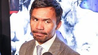 Manny Pacquiao CLARIFIES Amir Khan RUMOURS!  -  Pacquiao vs. Thurman