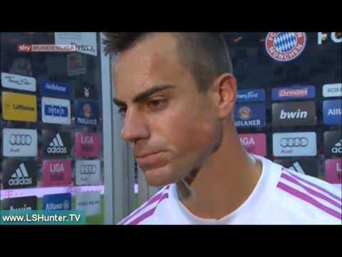Highlights - FC Bayern 3:0 VFL Wolfsburg - 25.09.2012! Tore & Interview!