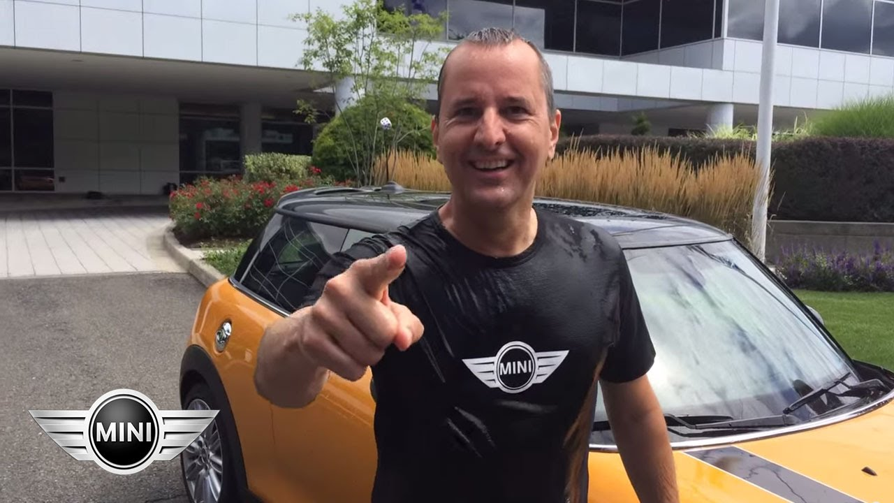 Watch MINI's Top Dog, David Duncan, participate in the ALS #IceBucketChallenge. Now it's your turn, MINI owners!