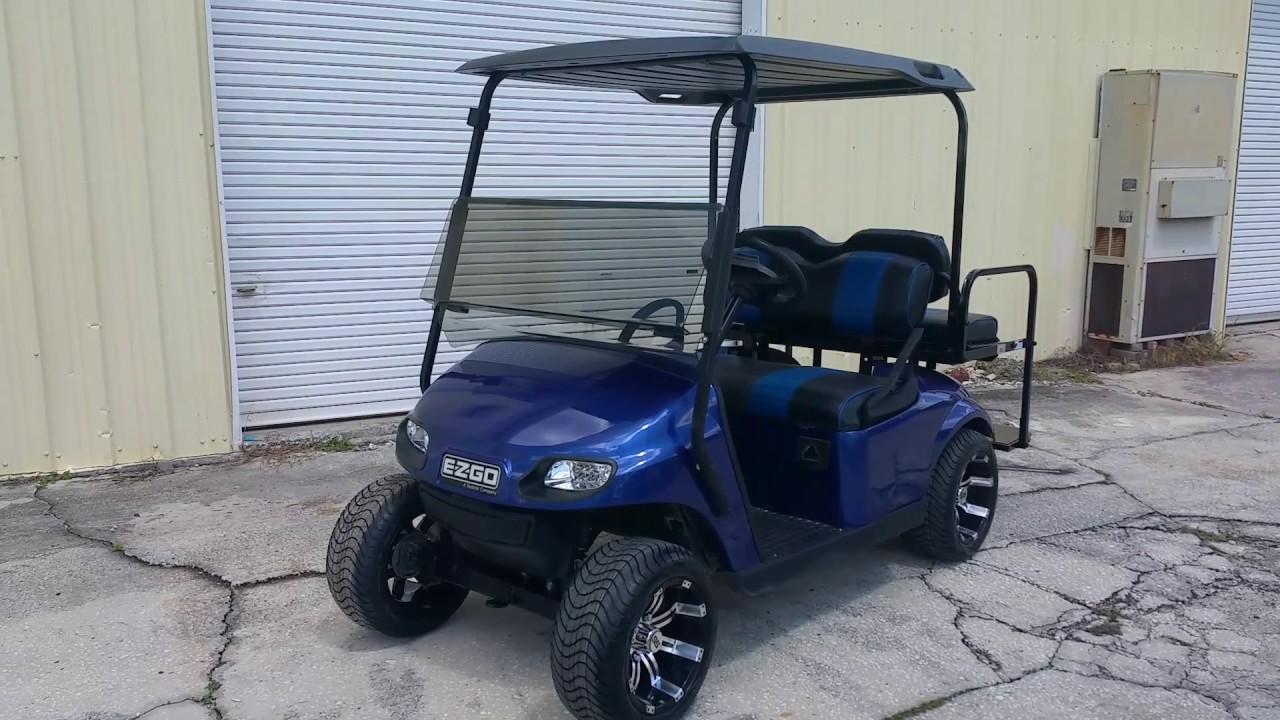 2014 ELECTRIC BLUE EZGO CUSTOM GOLF CART FOR SALE - YouTube on craigslist cars greenville sc, craigslist columbia south carolina women, craigslist charleston sc,