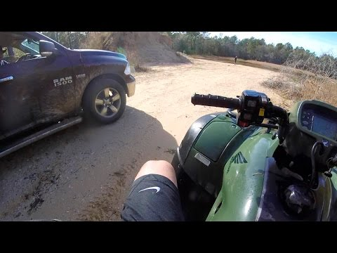 getting caught by landowner while mudding !?
