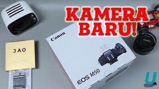 Unboxing Canon EOS M50 + Cerita 'DITIPU' Seller, Beli Resmi Dikirim Distri