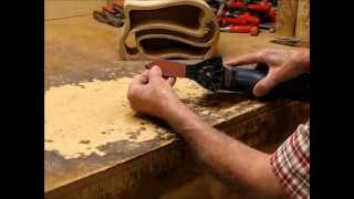 How To Sand Small Narrow Areas In A Band Saw Box