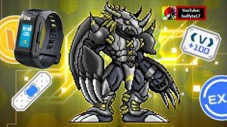 Vital Bracelet Digital Monster Lab (App) - BlackWarGreymon Raid Battle