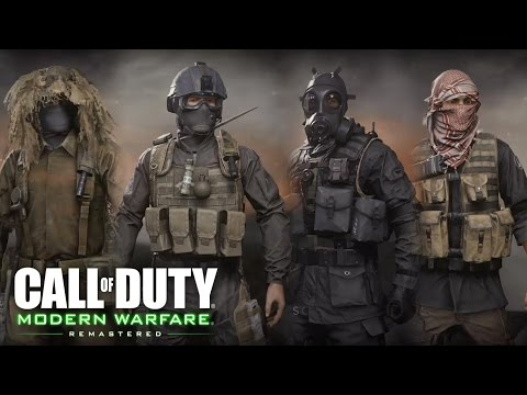 Call of Duty: Modern Warfare Remastered - All Weapons ...