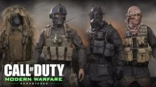 Call of Duty 4: Modern Warfare - All Outfits, Classes, Factions (Showcase) Military Uniforms