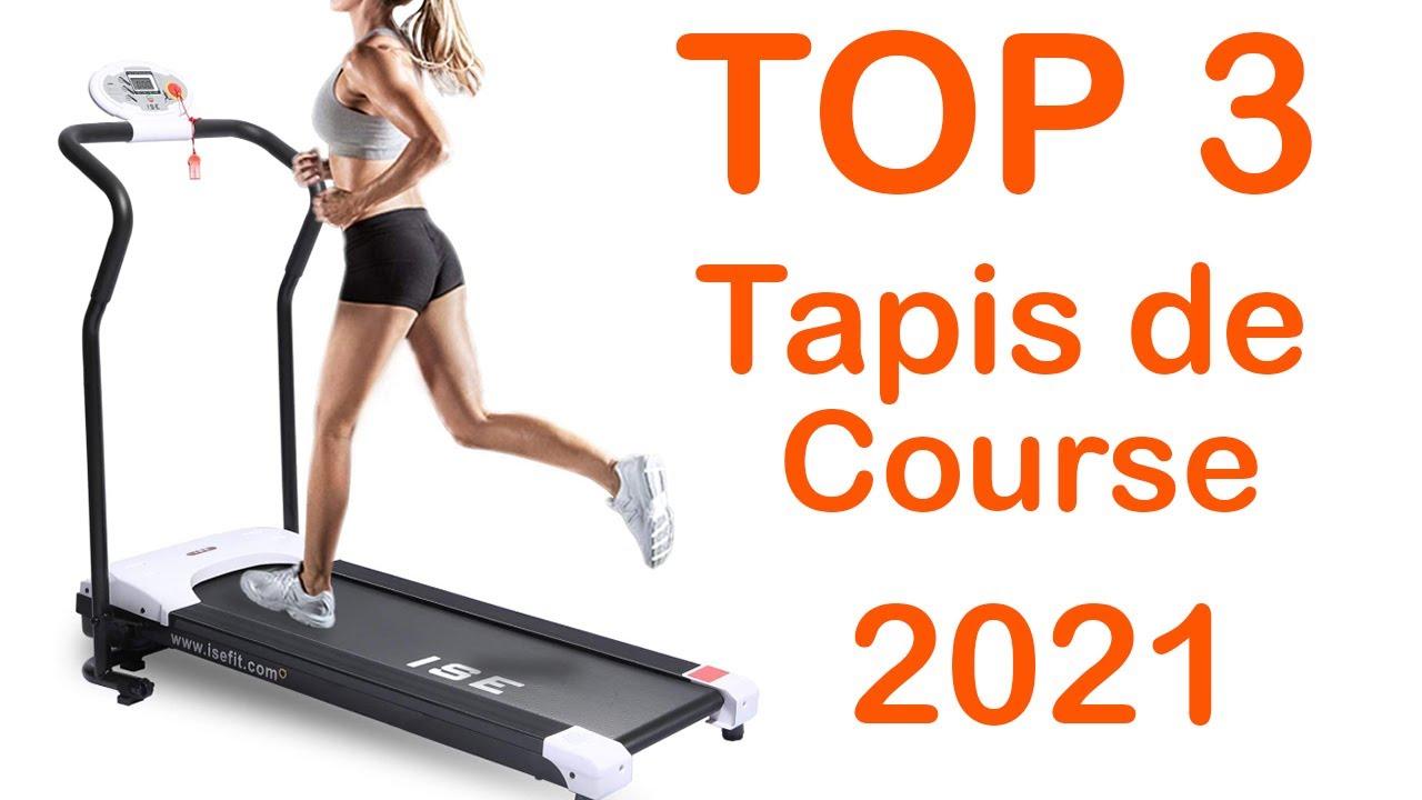 top 3 meilleur tapis de course marche 2021