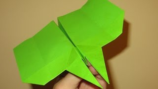 How to Make Cool Paper Airplanes that Fly Far and Straight - Hawkeye - Video 18