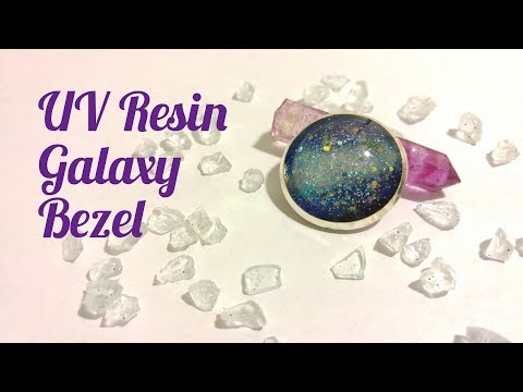 UV Resin DIY Galaxy Bezel Tutorial