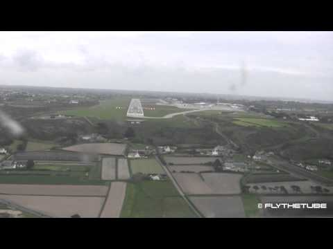 Straight-in Approach to Jersey Airport (JER / EGJJ) ILS to RWY09