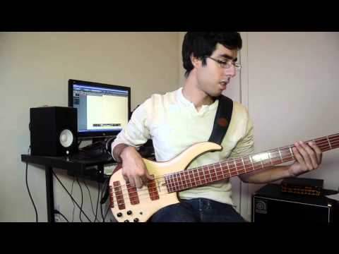 Move - Hiromi (bass cover)
