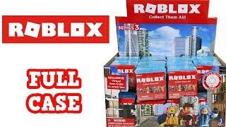 Roblox Series 3 Caja ciega caja completa Unboxing apertura de caja entera
