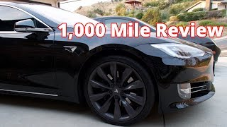 Tesla Model S 1,000 Mile Review