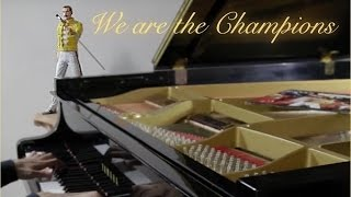 QUEEN - We Are The Champions ♫ ♫ ♫ ♫  HD Piano Cover play by Ear by Fabrizio Spaggiari