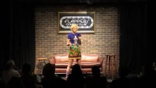 Ingrid Haubert at Flappers Comedy Club 10/02/16