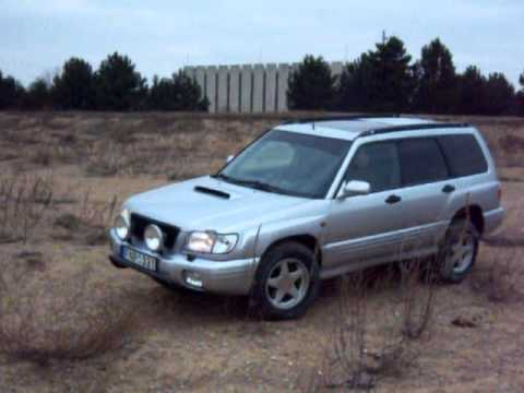 Lifted Subaru Forester S-turbo - YouTube