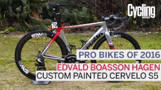 Pro Bikes of 2016: Edvald Boasson Hagen's Cervelo S5
