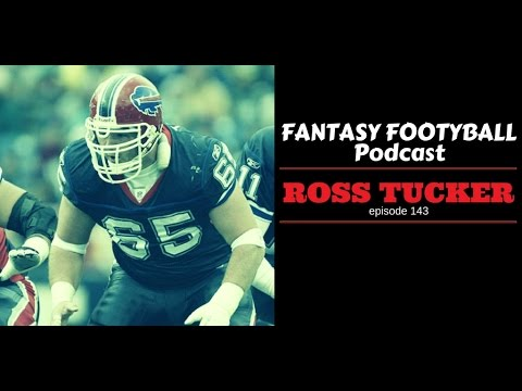 Ep143 - Ross Tucker On The Fantasy Football Auctioneer Podcast