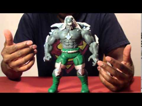 Dc Comics Doomsday Custom Action Figure Review Youtube