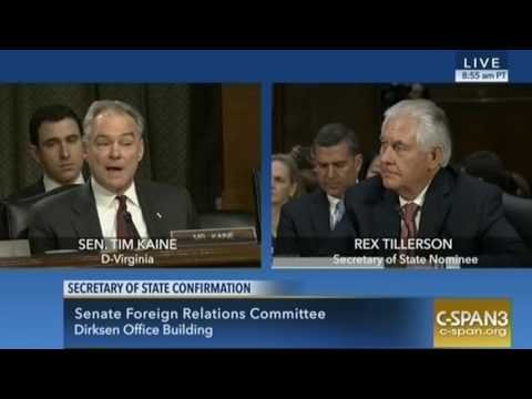 Tillerson Refuses to Answer for ExxonMobil Climate Change Denialism Under His Watch