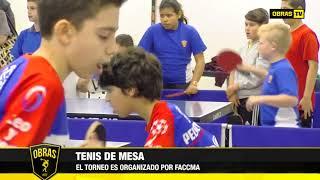 Tenis de mesa - Club Obras (27-09-2017)