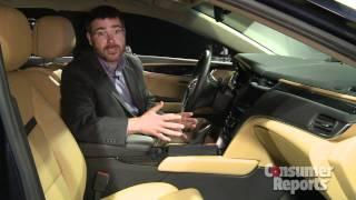 LaFontaine Cadillac - 2013 Cadillac XTS by Consumer Reports | 2012 NAIAS - Highland, MI
