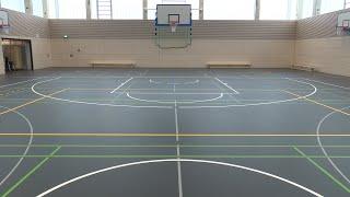 Neue Zweifach-Sporthalle für Gesamtschule Stettiner Straße