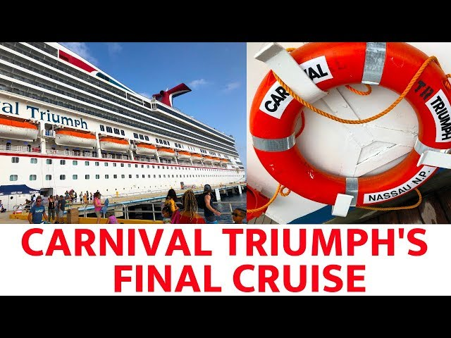Carnival Triumphs Final Cruise (2019)