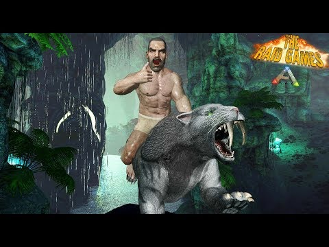 ARK - LA CUEVA SECRETA -#4 The Raid Games - Nexxuz