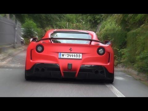 Novitec N-Largo Ferrari F12 - Crazy Sound!