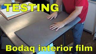 Testing Bodaq Interior Film Vinyl Rm wraps Rm wraps. Doing live streaming Nov 2018